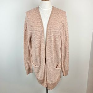 Madewell Ribbed Knit Open Front Cardigan